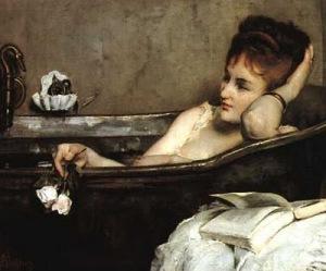 O banho -  the bath